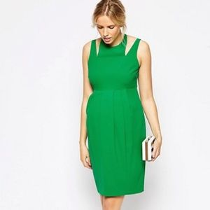 ASOS Maternity Tulip Dress With Cut Out Neck Dress